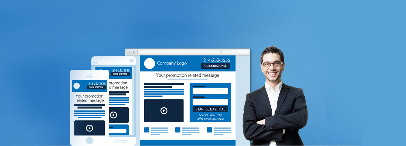 Custom Landing Page Design